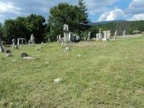 Pravoslani deo seoskog groblja nakon uređenja, jun 2013.