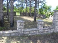 Spomen-groblje nakon uređenja, jun 2013.