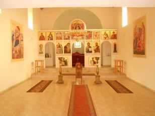 Unutrašnjost Vrbičke crkve