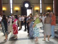 Parastos u crkvi Sv. Marka, jul 2013.