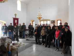 Света Литургија у Губину, Бадњи дан 2014. год.