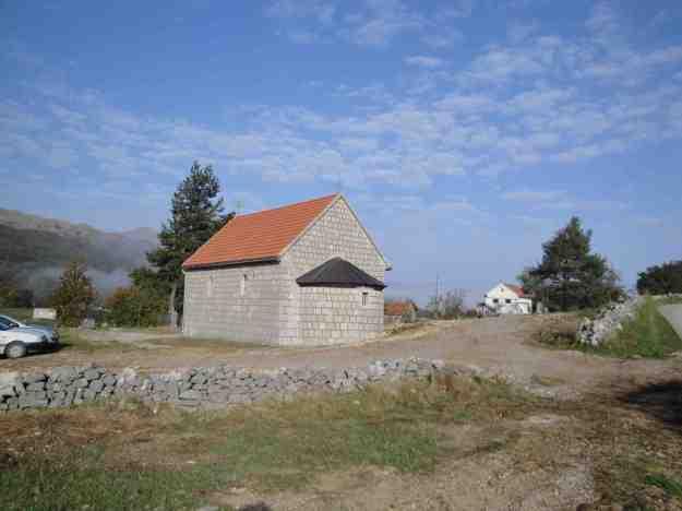 Садашњи изглед зида око гробља