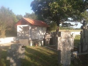 Капела на гробљу Кусача у Радановцима